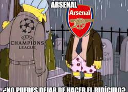Enlace a La vida del Arsenal en la Champions