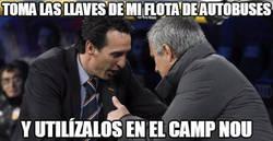 Enlace a Mourinho presente en el Camp Nou