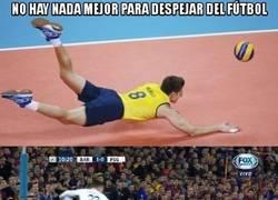 Enlace a El volleyball también puede ser entretenido