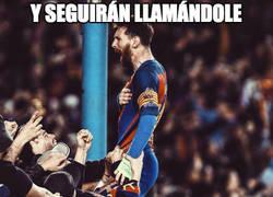 Enlace a La pasión de Messi con la remontada