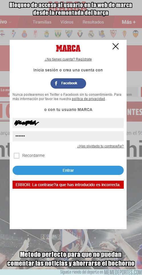 956252 - WTF: Marca bloquea el acceso de usuarios a la web