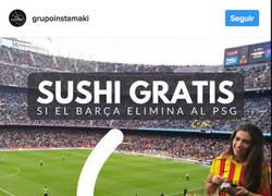 Enlace a Este restaurante de sushi se ha ido mínimo a la quiebra tras la remontada del Barça