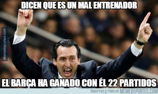 956672 - Tan mal entrenador no es, al Barça le va bien