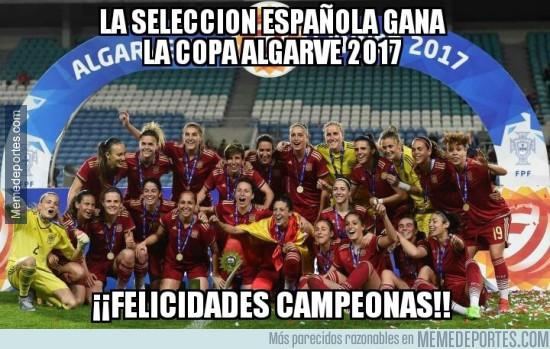 956769 - ¡¡Felicidades campeonas!!