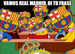 Enlace a Vamos Real Madrid, di tu frase