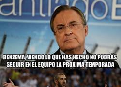 Enlace a Benzema tiene las horas contadas en el Real Madrid