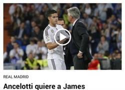 Enlace a ¿James al Bayern?