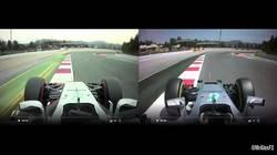 Enlace a Atención a la diferencia entre la Fórmula 1 de 2016 vs Fórmula 1 de 2017 en un mismo circuito