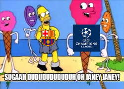 Enlace a El Barça se despertó de la Champions