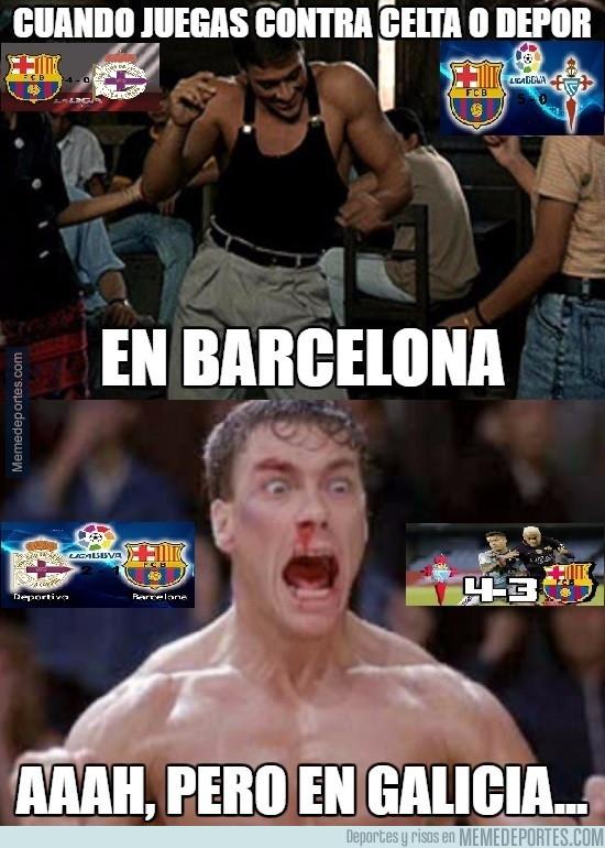 957909 - El Barça contra los equipos gallegos...