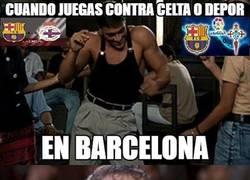Enlace a El Barça contra los equipos gallegos...