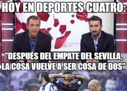 Enlace a El gafe de Deportes Cuatro vuelve a atacar...