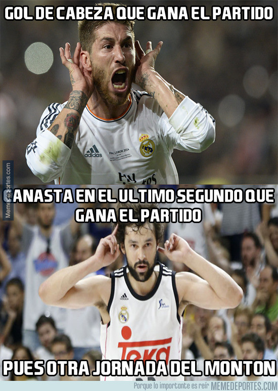 958159 - Los dos Sergio se la sacan en el Madrid