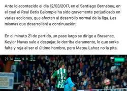 Enlace a Piden firmas para repetir el Real Madrid-Real Betis por escándalo arbitral