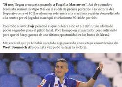 Enlace a Pepe Mel: Si nos empatan, mando a Fajr a Marruecos