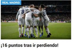 Enlace a El Madrid es más peligroso cuando va perdiendo, obvio