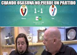 Enlace a Cuando Osasuna no pierde un partido