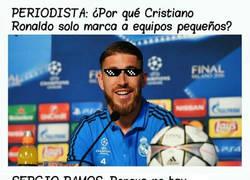 Enlace a Zasca de Sergio Ramos en rueda de prensa