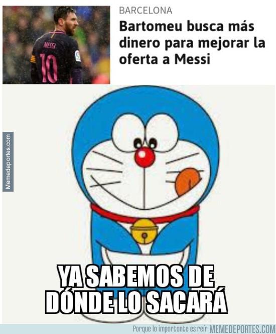 958678 - Doraemon al rescate del Barça