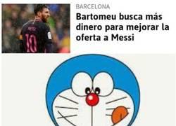 Enlace a Doraemon al rescate del Barça