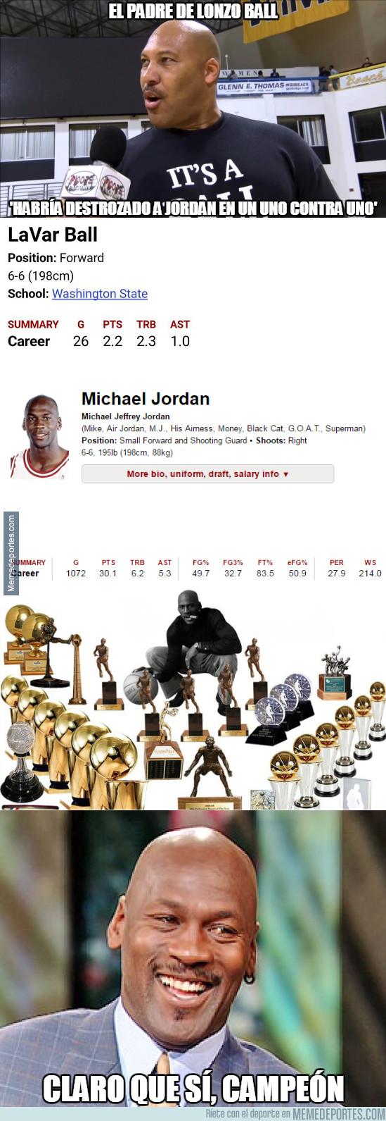 958934 - Mientras tanto el Padre de Lonzo Ball prospecto de la NBA
