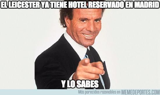 959451 - El Leicester ya tiene hotel reservado en Madrid