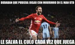 Enlace a Juan Mata es el salvador del Man Utd