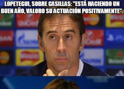 Enlace a La opinión de Lopetegui sobre Casillas