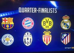 Enlace a ¡YA TENEMOS los cruces de cuartos de Champions League!