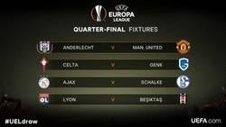 Enlace a Así han quedado los emparejamientos de Cuartos de la Europa League