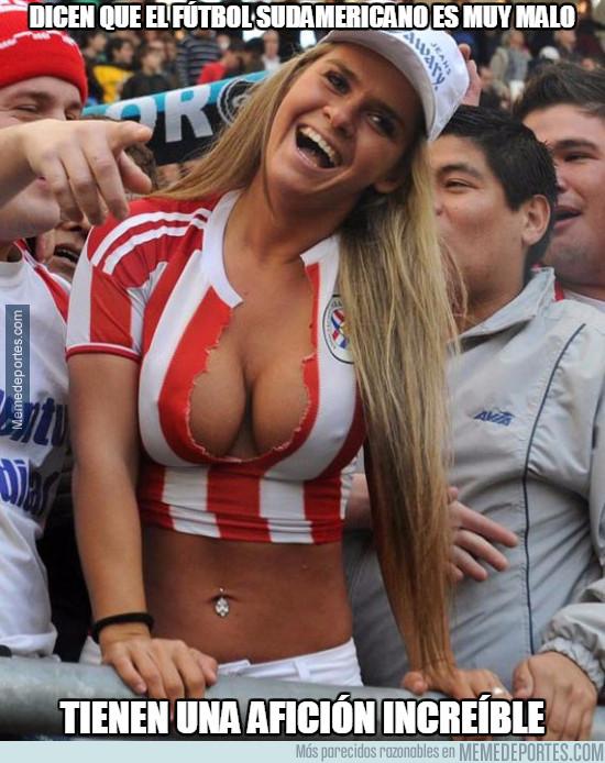 960147 - Esto demuestra que la mejor afición es la de Sudamérica