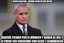 Enlace a Ranieri tiene un plan