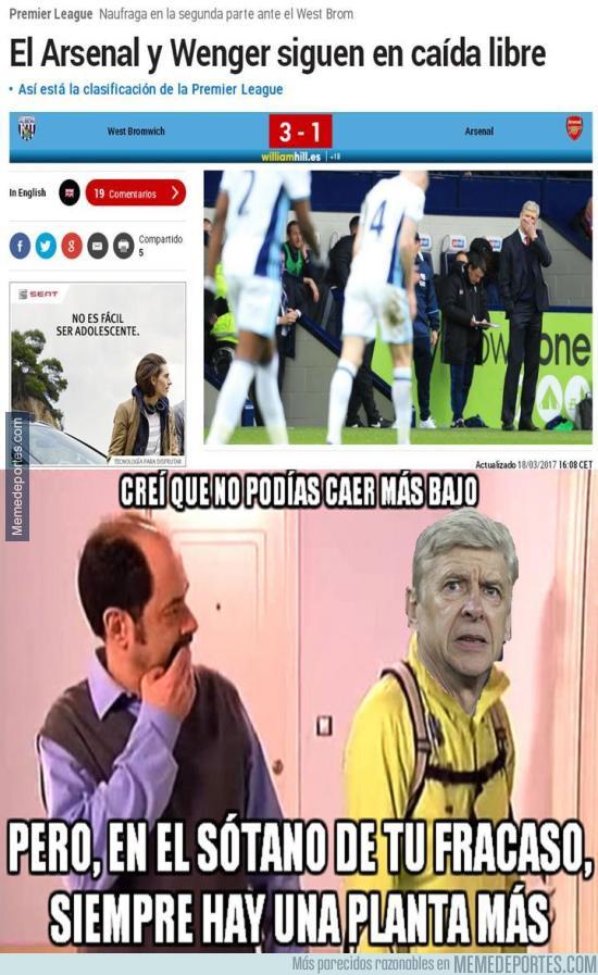 960377 - Arsène Wenger sigue perdiendo partidos con el Arsenal