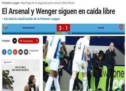 Enlace a Arsène Wenger sigue perdiendo partidos con el Arsenal