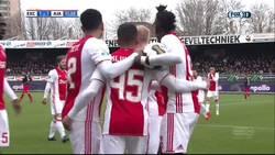 Enlace a VÍDEO: Así fue el primer gol del hijo de Patrick Kluivert con el Ajax