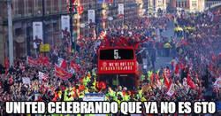Enlace a Manchester está de celebración