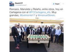 Enlace a Roncero lo ha vuelto a hacer, ahora con el Cartagena
