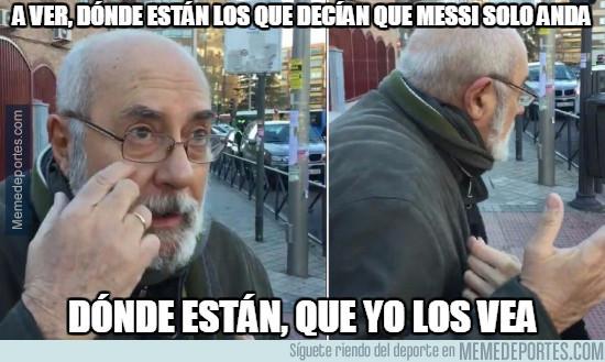 960854 - Messi sacándosela frente al Valencia