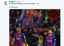 Enlace a La enorme respuesta del Espanyol a LaLiga tras tuitear esto sobre Messi