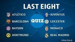 Enlace a ENCUESTA: Y tú, ¿quiénes crees que pasarán a Semifinales de Champions?