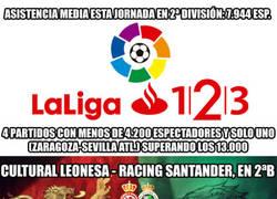 Enlace a Cultural Leonesa - Racing, un partido de otra categoría (con invasión verdiblanca incluida)