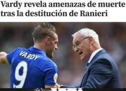 Enlace a Ranieri tiene asuntos pendientes