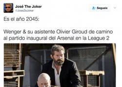 Enlace a Arsenal, año 2045