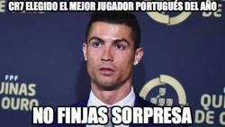 Enlace a Cristiano Ronaldo, elegido mejor jugador portugués del año