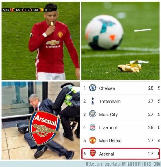 961374 - Tremendo resbalón del Arsenal y Wenger