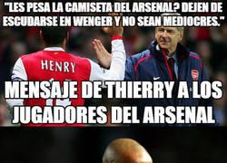 Enlace a Henry sale en defensa de su ex-entrenador y deja callados a los haters de Wenger