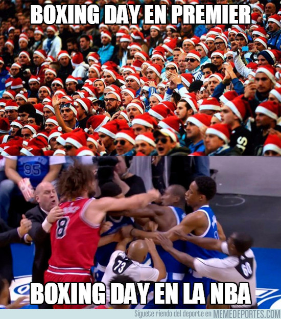 961490 - Boxing day en la Premier y en la NBA