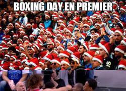 Enlace a Boxing day en la Premier y en la NBA