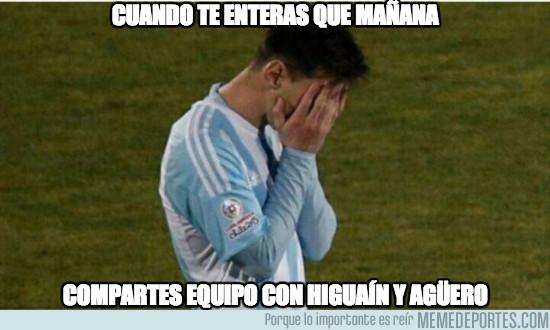 961511 - Cuando creas que tu tienes mala suerte, solo mira a Messi