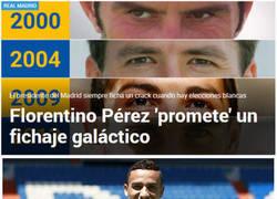 Enlace a Año de elecciones, año de galáctico en el Real Madrid